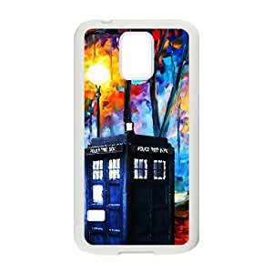 DAZHAHUI Police Box Hot Seller Stylish Hard Case For Samsung Galaxy S5 BY RANDLE FRICK by heywan