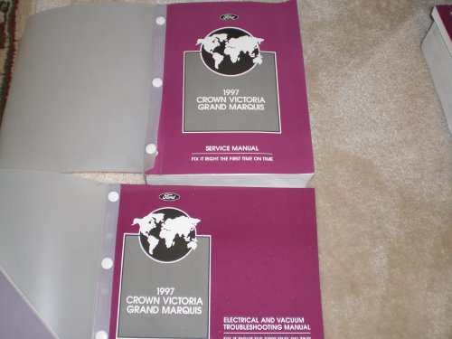 1997 Ford Crown Victoria/grand Marquis Service Manual 2 Vol. Set