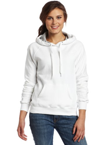 Champion Women's Pullover Eco Fleece Hoodie, White, 2X-Large ()
