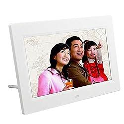 Lary intel 7inch HD LCD Digital Photo Frame with Alarm Clock Slideshow MP3/4 Player