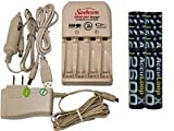 sunbeam battery charger - Battery Charger 3Hr For Aa/Aaa & 12V Car Plug & 8 Aa 2600 Mah Acculoop-X Batteries (Low Discharge)