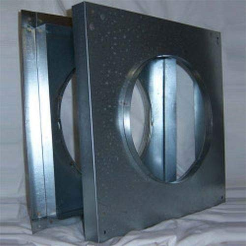 Superior WF58 Wall Firestop for 5'' x 8'' Coaxial Chimney - Galvanized