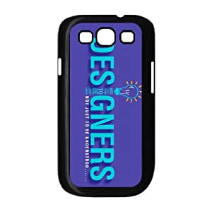 typography 9 Samsung Galaxy S3 9300 Cell Phone Case Black custom made pgy007-9998134