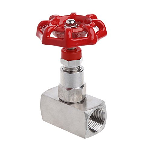 "1/2"" DN15 Stainless Steel 316 High Pressure Needle Valve Female Thread J13W-160R"