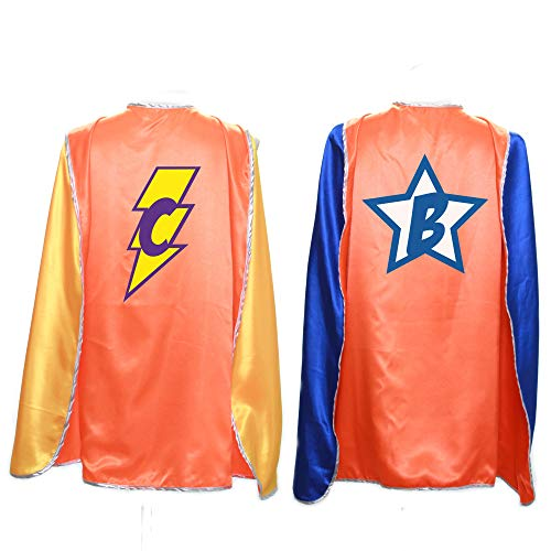 Everfan Personalized Adult Superhero Cape | Superhero Capes for Adults | Satin Costume Cape (38