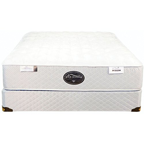 Twin Spring Air Back Supporter Four Seasons Arcadia Plush Mattress