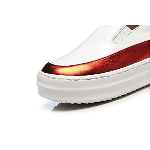 de Zapatos Plataforma A0921 Red Series Ocio Mujeres KJJDE Zapatos WSXY Casuales con Hembra 0AxwnqR