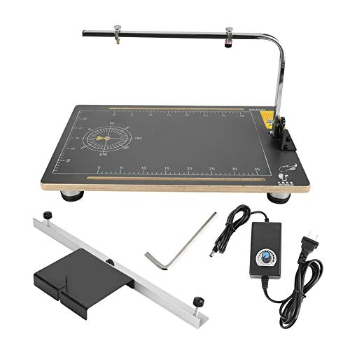 - Desktop hot Wire Foam Cutting Machine, Board Wax Wire Foam Styrofoam Cutter Machine Working Stand Table Tool (US Plug 110V)