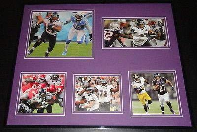 (Ray Rice 16x20 Framed 2012 Baltimore Ravens Super Bowl Season Photo Collage )