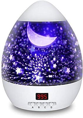 Lámparas Proyector Infantiles, Proyector Estrella de Rotación 360 ...