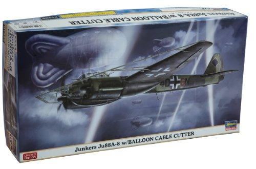 1/72 Junkers Ju88a-8w / Balloon Cutter by HASEGAWA