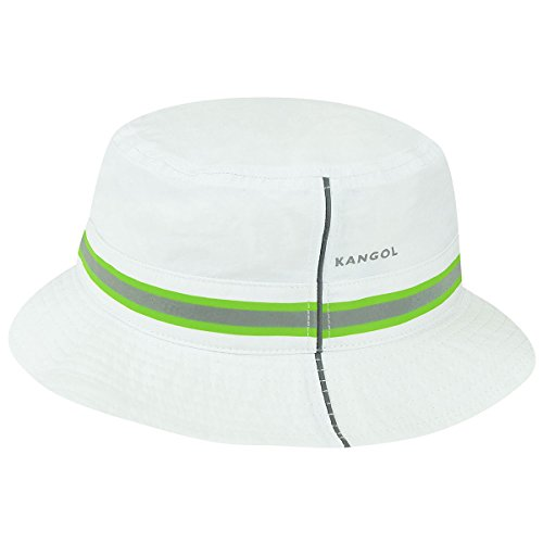 Kangol Men's Urban Utility Bucket Hat, White, -