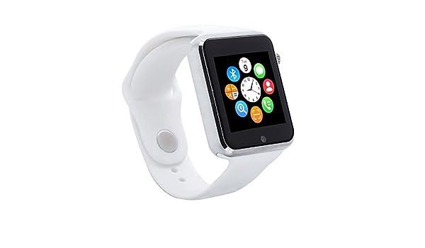 Muvit I/O MIOSMW007 Reloj de Actividad y Sueño, Blanco, M: Amazon.es: Deportes y aire libre