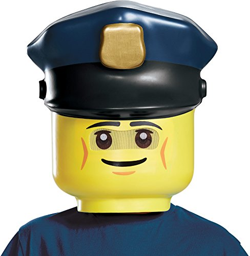 Disguise LEGO Police Officer Mask, One Size