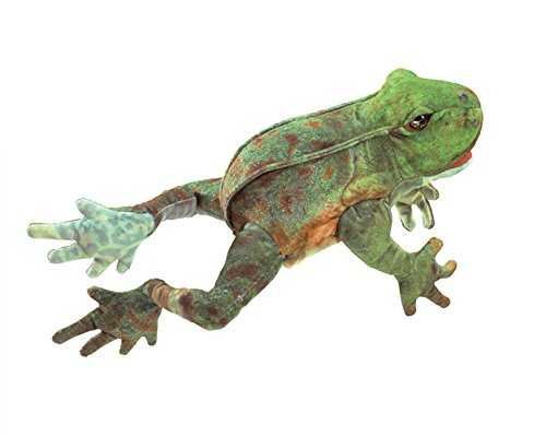 Puppet Hand Frog (Folkmanis Jumping Frog Hand Puppet)