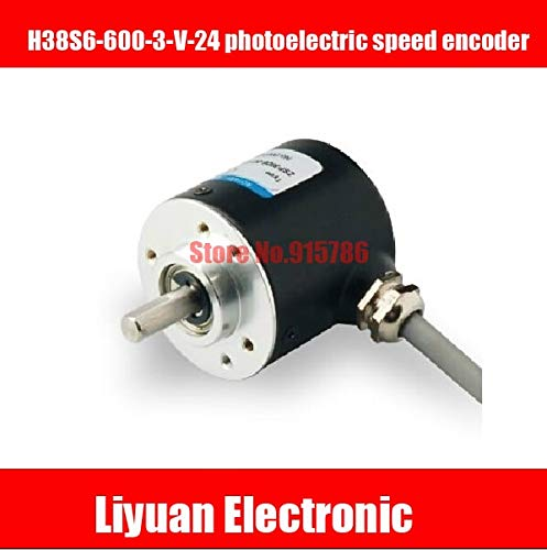 Utini 1pcs New H38S6-600-3-V-24 photoelectric Speed Encoder/ABZ NPN Output incremental Encoder