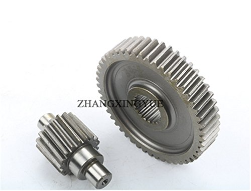 (49-17t Performance Final Drive Gear GY6 50cc 139QMB Chinese Scooters Engine Spare parts)