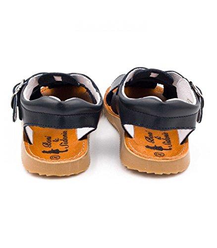 Boni classic shoes Unisex-Kinder Sandalen Blau