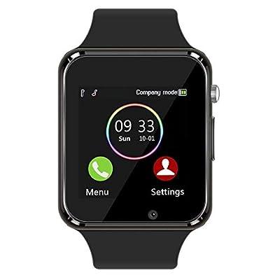 Smart Watch - 321OU Fitness Tracker Bluetooth Smart Watch Smartwatch Phone Fitness Tracker SIM SD Card Slot Camera Pedometer iPhone iOS Samsung LG Android Men Women Kids