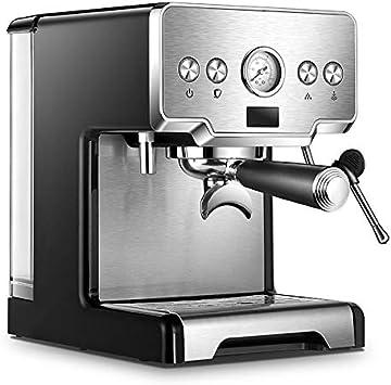 JRZTC Cafetera Express Máquina De Café Barista Espumador De Leche | Ideal para Cocina Hogar | Filtro De Acero Inoxidable Reutilizable, 285 * 257 * 315MM: Amazon.es: Hogar