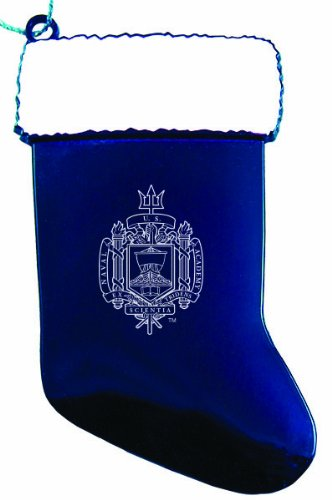 Naval Christmas Ornaments.United States Naval Academy Chirstmas Holiday Stocking Ornament Blue