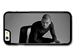 Chris Brown Black & White Portrait case for iPhone 6