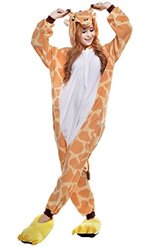 [The ShielD? Onesie Costume Kigurumi Pajamas Halloween Costumes GiraffeXL] (Costume Rental Jakarta)