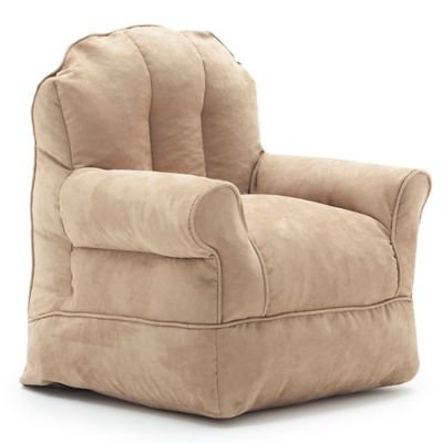 Comfort Research Big Joe Bubs Microsuede Armchair in Camel