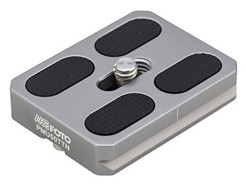(MeFOTO RoadTrip & GlobeTrotter Camera Plate - Titanium (PMU50TTN))