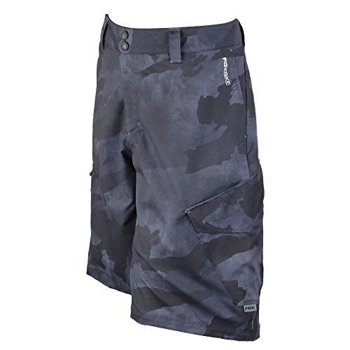 Fox Head Men's Ranger Cargo Prints Shorts, Black Camo, (Fox Racing Ranger Cargo)