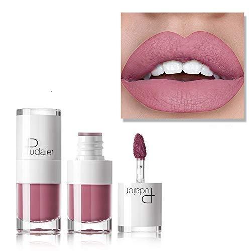 HHBack New Long Lasting Lipstick Waterproof Matte Liquid Lip Gloss Lip Liner -