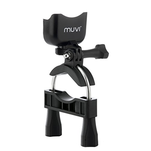 Veho Muvi Extra-Large Pole/Bar Mount for Bikes/Roll Cages/Boat Rigging for Muvi KX-Series | Muvi K-Series | Muvi HD | Muvi Micro - Black (VCC-A025-LPM)