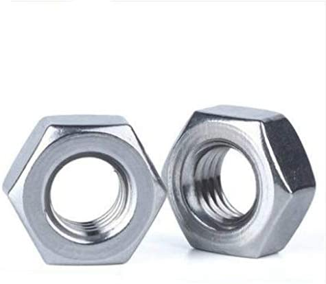 Nologo Hex Nuts Stainless Steel Hex Nuts Metric Thread Nuts Dimensioni : M3