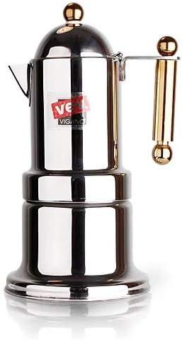 XIAOLUDIAN Precio Especial a la Venta Italiano VEV Moka Pot Gold Handle Coffee Pot: Amazon.es: Hogar