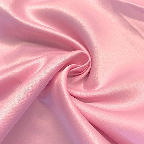 Rosette ACRYLIC SATIN Aqua Fabric  58-60 Wide  Sold By the yard
