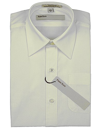 Perry Ellis Sleeve Solid Cotton