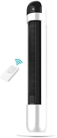 Opinión sobre FHDF Ventilador de Torre Oscilante con Función de Control Remoto, Ajustable Climatizador Portatil Frio Temporizador de 12 Horas Funcionamiento Silencioso, Dormitorio La Oficina (Blanco, 40W)