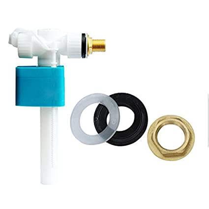 Cikuso Pro Valvula de entrada de ingreso lateral 1/2 pulgada para cisterna - vastago