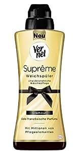 Vernel Supreme Glamour Oro Suavizante 24WL 600ml (Pack of 6)