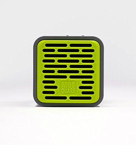 MB Quart QUBOne - Lime Green - Portable bluetooth speaker with 5-hours (Mb Quart Home Audio Speakers)