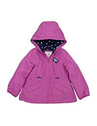 Carter's Girls Midweight Fleece Lined Anorak Jacket Jacket