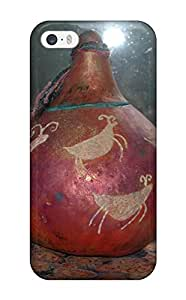 Premium Gourd Art Back Cover Snap On Case For Iphone 5/5s