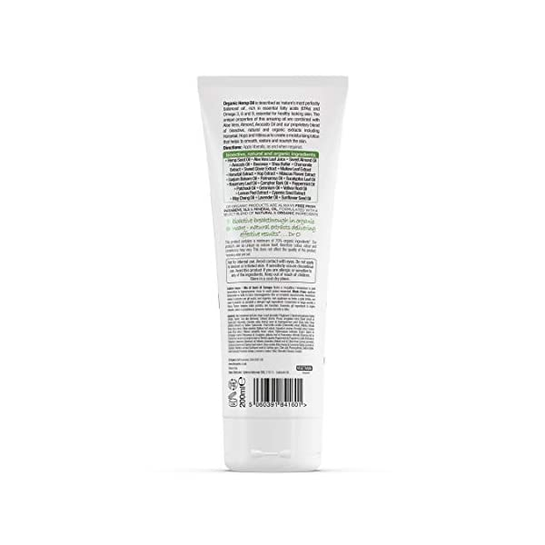 DR ORGANIC Hemp Oil Skin Lotion, 200 ml