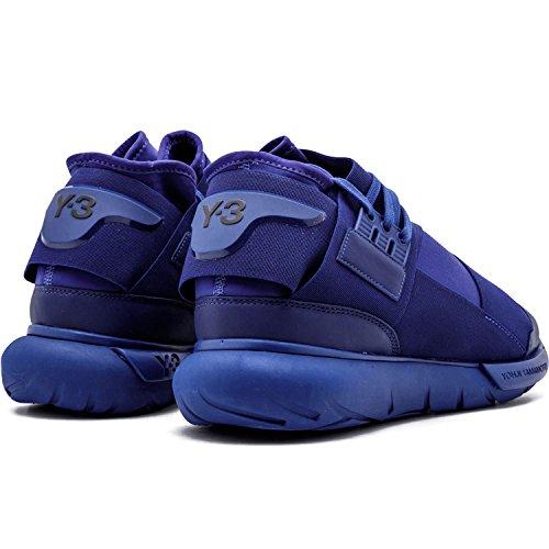 Y-3 Hombres Qasa High Sneakers Purple / Purple