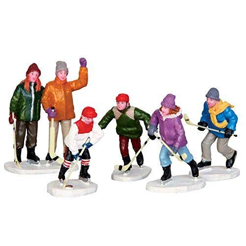 Lemax Village Collection The Home Team Set of 5 # 42240