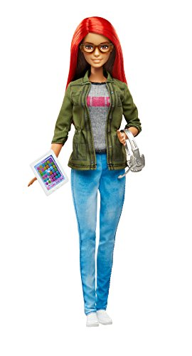 Barbie Careers Game Developer Doll (Barbie Computer)
