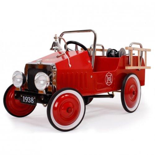 Baghera Fire Truck (Retro Style Pedal Car)