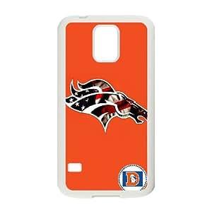 Denver Broncos Team Logo Samsung Galaxy S5 Cell Phone Case White 218y3-123110