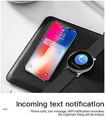 W8 Smart Watch Monitor de Ritmo cardíaco Pronóstico del Tiempo ...