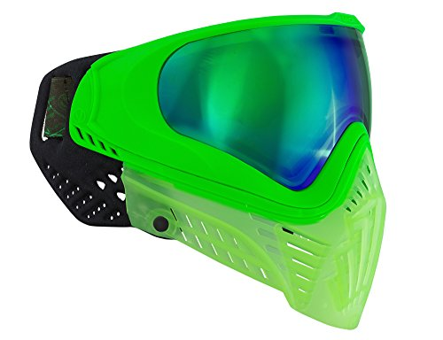 Virtue VIO XS Thermal Paintball Goggles/Masks - Crystal Emerald